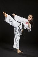 Woman Karate Domination 076