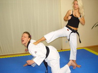 Sexy Karate Ladies
