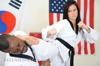 Woman karate domination over male 001