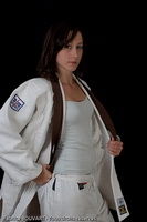 Woman karate domination over male 055