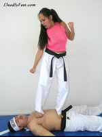 Naked Karate Women 39