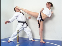 Naked Karate Women 42