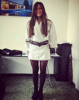 08 - Karate Gi and pantyhose