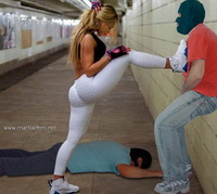 08 - Sexy woman self defense