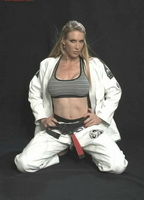 Busty jiu jitsu woman