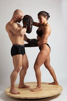 bikini martial arts woman versus man 2