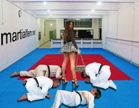 11 This dojo now will have a woman sensey, any problem gentlemen!